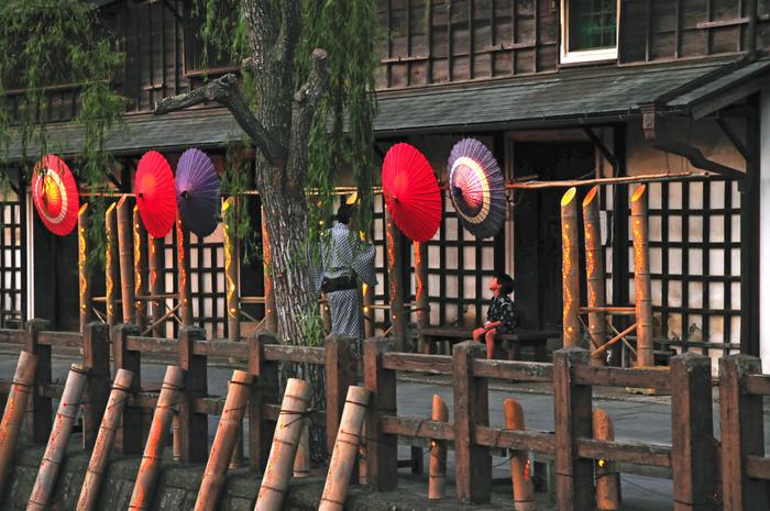 江戸時代にタイムトリップしたような町並みが数多く残っている佐原は、関東地区で初めて「重要伝統的建造物群保存地区」に選定されました。今でも昔ながらの商家を続け、歴史ある景観を活かしたまちづくりを積極的に行っています。