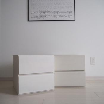 一人暮らしや家族が少ないご家庭なら、こんなユニットボックスもおすすめです。