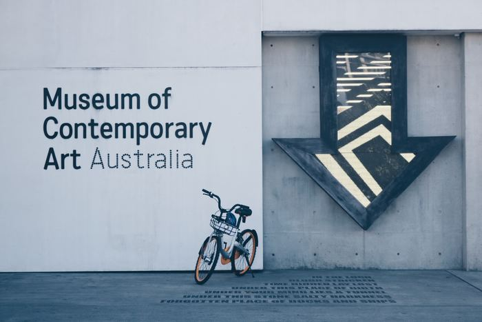美術館の佇まいそのもが、アート作品の一部の様です。