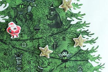 今年のクリスマスは少しだけオーナメントも手作りしてみませんか?キットなのでイラストがプリントされた布をチョキチョキ切って縫うだけ。一味違った、自分だけのクリスマスツリーを完成させましょう♪