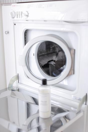 洗濯は主婦が好きではない家事の上位にあがってくることが多いものですが、フォルムの美しい洗濯機ならモチベーションもぐぐっと上がりそうですね。