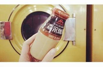 銭湯といえば…『コーヒー牛乳』♪