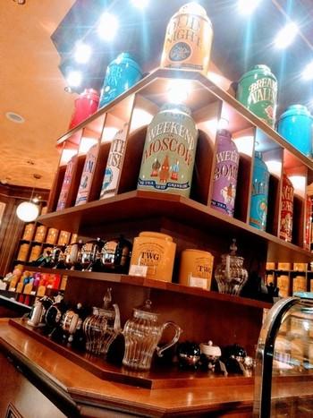 TWGは5つ星ホテルや飛行機のファーストクラスでも提供されているという高級ブランド。缶のデザインが良く、インテリアにしてもおしゃれです。 ショップは東京・横浜に計5店舗あります。