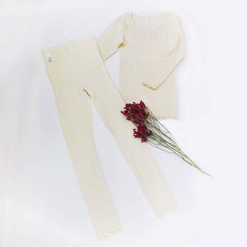 シルクとウールの良いところを組み合わせた混合素材。上下セットのお得なインナーなら、より快適に過ごせるはず。