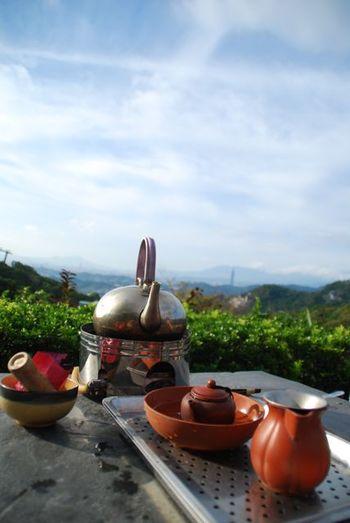 猫空には、お茶の産地というだけあって美味しい台湾茶をいただけるカフェがたくさんあります。天気が良い日は、標高500mからの絶景を眺めながら、身も心も癒されるティータイムが過ごせますよ!