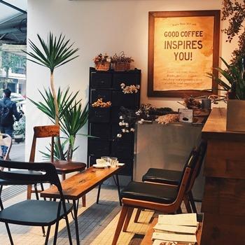 3日目のオススメカフェは、アパレル販売からスタートしたという台北市内にあるおしゃれな『富錦樹353 カフェ』。朝9:00からオープンしているので、淡水に行く前にぜひ寄って行きましょう!