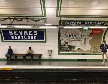 フランス語のアナウンスも、なんだかお洒落に感じます。何度か乗っているうちにだんだんと慣れて、路線図もわかるようになってくると思いますよ。