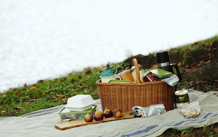 ピクニックやキャンプのとき、荷物をたくさん入れられて便利なのがバスケット。アウトドアシーンだけでなく、日常のお買い物時にエコバッグとして使ったり、インテリアで小物を入れる収納に使ってもいいですよね。 お出かけ時の頼れる相棒として持ち歩いても、お家の収納兼インテリアとして置いておいてもサマになる、おしゃれで実用的なバスケットをご紹介します。