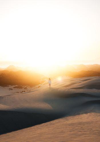朝日を浴びると体内時計を整えるということは、既にお伝えしました。朝日を浴びると、セロトニンとメラトニンという脳内物質の分泌を促します。セロトニンは快適な一日をスタートさせ、メラトニンは太陽光を浴びてから15時間後に自然と眠くなる働きが。朝はカーテンを開けて朝日を浴びるのを毎日の習慣にしたいですね。