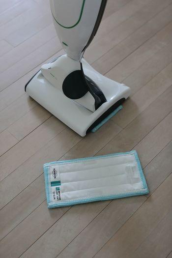 さらに、床掃除用ヘッドを付ければ拭き掃除までできるんです。徹底的にお掃除がしたい!という時には、フルコースで使いたいですね。