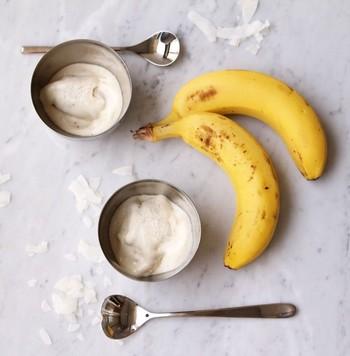 ココナッツミルクでクリーミー! 生クリームやお砂糖不使用で、とってもヘルシーなのが嬉しいですね!