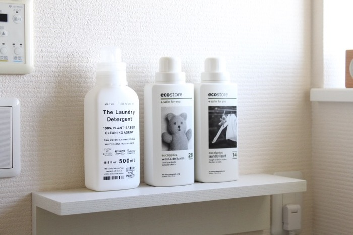 洗濯洗剤や掃除洗剤などは、香りのよいものを選べば心地よく家事が進められそう。部屋中にふわりとお気に入りの香りが漂って、気持ちもウキウキしてきます♪