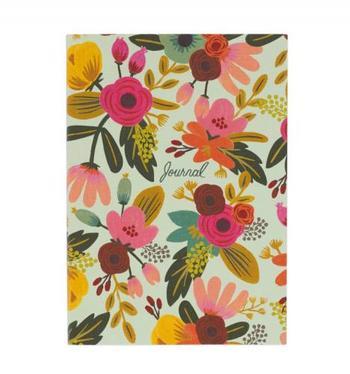 さあ、これから日記を付けよう!という時、気分を上げるのは美しいノート。色彩豊かな自然を感じさせる表紙に、見開きの模様の凝ったディテール。日々ページをめくるのが楽しみになりますよ。