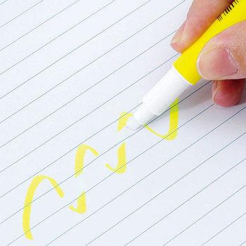 勉強や仕事用ノートに役立つ蛍光マーカー。こちらのペンが優秀なのは、マーカーの反対側に特殊なインクでできたイレーザーが付いていること。あっ、しまった!を帳消しにできるなんて、とてもありがたい。お役立ちなツールです。