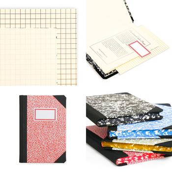次は、ポルトガルから。「パペラリアス・エミリオ・ブラガ」は、100年に渡り、リスボンでハンドメイドのノートを作り続けている有名ブランド。上質な無地の紙には、自由に線を引き、文字を並べ、スケッチを描くことができます。また、正確に文字を書きたいときは、方眼の下敷きがとても役に立ちます。表紙だけかと思いきや、ノートを閉じれば小口部分にもマーブル模様。アーティスティックで繊細、そして上等なノートは、つい誰かに自慢したくなるほど魅力的です。