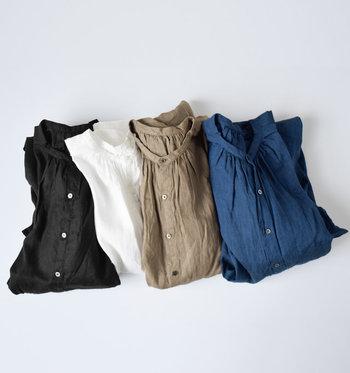 今回は、この夏を快適に過ごすリネンのファッションアイテムを集めてみました!