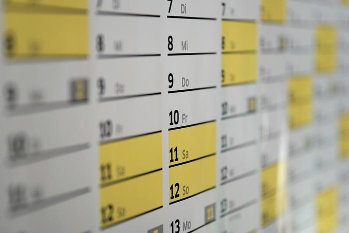 カレンダーをトイレに置くと、トイレの中の良くない気がカレンダーが指し示す未来にまでついてしまいます。カレンダーはトイレに置かない方が良いでしょう。