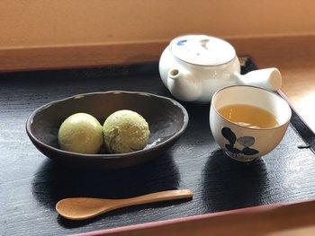 定番のきなこアイスの他にも、抹茶・黒ごま・あずきなど、きなこをベースにした和風アイスがいろいろ。ほうじ茶と一緒に味わうと、さらにほっこりします♪
