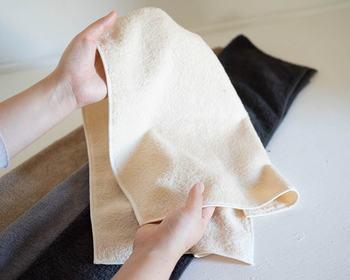 上質な手触りと使い心地はブランド品ならでは。便利さと使い心地にこだわったタオルです。