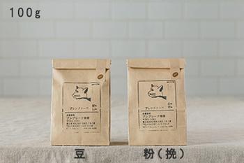 こだわりの自家焙煎のコーヒー豆店の豆は、透き通った味わいが特徴。癖のない味わいで、飽きずに飲み続けられます。