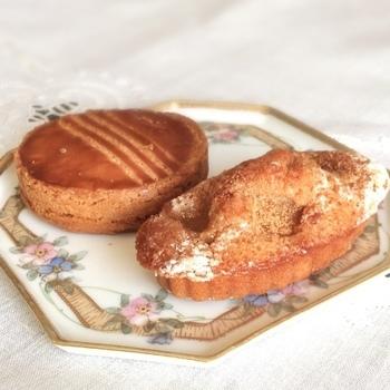 厚焼きのガレット・ブルトンヌや、フィナンシェ、マドレーヌも、食感とたっぷりのバターの香りがたまりません。