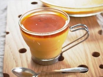 バターナッツかぼちゃの濃厚さは、プリンにもぴったり。普通のプリンよりもかぼちゃの栄養をとれる、おすすめの手作りスイーツです。