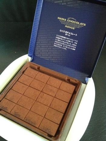 北海道土産の代表格「ロイズ」の生チョコレート。北海道帰りじゃなくても、美味しい定番のお土産が手に入るなんて嬉しいですよね。