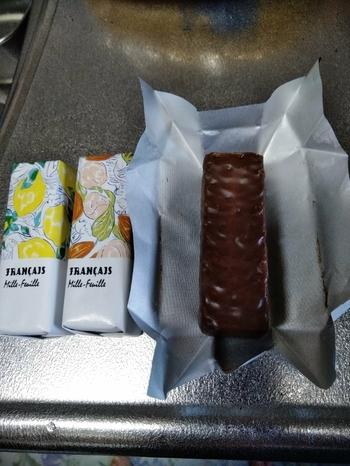 個包装をはじめ、4種類の味を楽しめる詰め合わせボックスがあります。  個包装でも1つずつ箱と同じデザインになっているので、喜んでもらえそうですね。