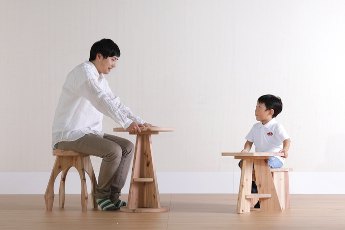 自分たちで手作りした家具は、愛着もひとしお。プラモデル感覚で手軽に家具を作れる「木it」を使って、お子さんとDIYを楽しんでみませんか?