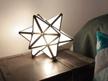 フランス語で「星」の意味を持つ「Etoile(エトワール)」のデザインのランプです。光、形共に思わず目を奪われる美しさで、インテリアのアクセントとして抜群の存在感を放ちます。 こだわりのカフェスタイルにはもってこいの、個性的なランプです。