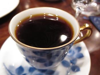 RANBANの一杯はこちら。コーヒー豆を厳選しており、本格的なコーヒーを楽しみたい方にもおすすめ。1杯1000円以上する稀少な豆を使用したものもあって、コーヒー好きにはたまりませんね。