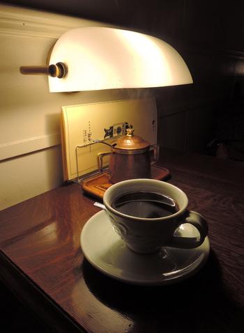 コーヒーは濃い味でありながらも苦すぎず、すっきりとした味わい。酸味が強くないので、コーヒーが苦手な方も飲みやすいですよ。