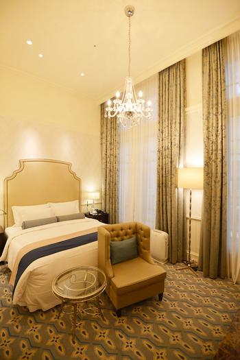 室内は当時のクラシカルな雰囲気を、そのまま残しています。