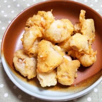 外はサクッと、中はとろ~りクリーミーな白子の天ぷら。大人好みの通な味。贅沢なおつまみにもなりそうですね。