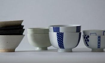 ご飯茶碗は和食には欠かせないアイテム。それぞれの人に合ったご飯の量を盛りつけられるうつわをチョイスするのが大切です。