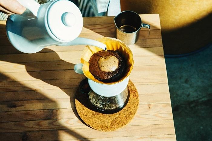 美しく膨らむコーヒーは、豆の鮮度と正しい保管が重要