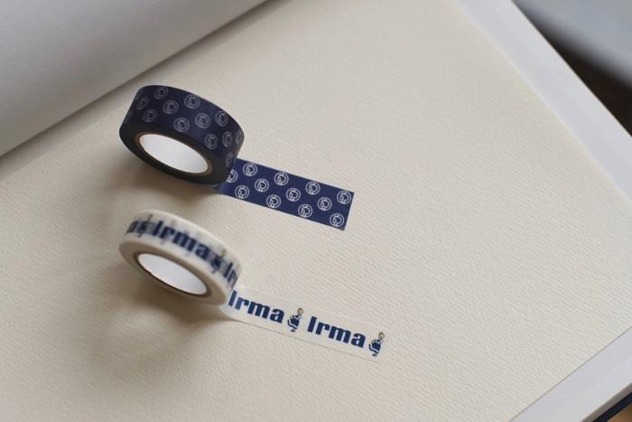 """北欧のスーパーマーケット「Irma(イヤマ)」のマスキングテープは、小さな""""イヤマちゃん""""のデザインが可愛い♪他にもIrmaからはキッチンタオルやトートバッグ、オーガニックコスメなどが販売されています。"""