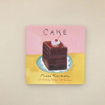 叔母の家で食べたチョコレートケーキや9歳の誕生日のデコレーションケーキなどケーキにまつわる思い出のシーンを描いたイラストと料理研究家のレシピで構成された甘~い絵本。