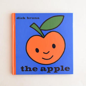 アップルパイと合わせるなら、ミッフィーでお馴染みのディック・ブルーナの林檎を主人公にしたキュートな絵本はいかがでしょう。