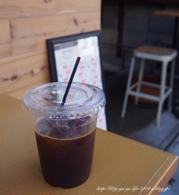 京都で人気の自家焙煎コーヒー店「ウィークエンダーズコーヒー」の豆で作ったコーヒーは、スッキリした味わいです。