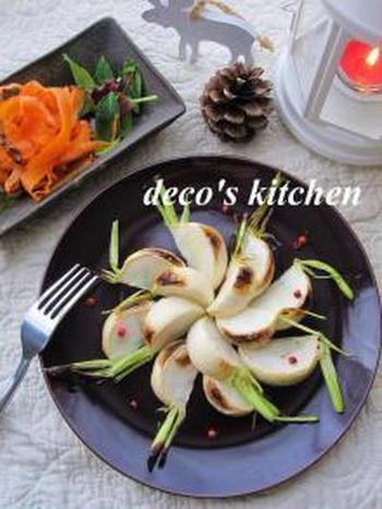 さらにうまみを凝縮させるなら、干し野菜を魚焼きグリルでさっと焼くのもいいですね。甘みも強く、野菜のおいしさが満喫できます。オリーブオイルと塩のみのシンプルな味つけがおすすめ。