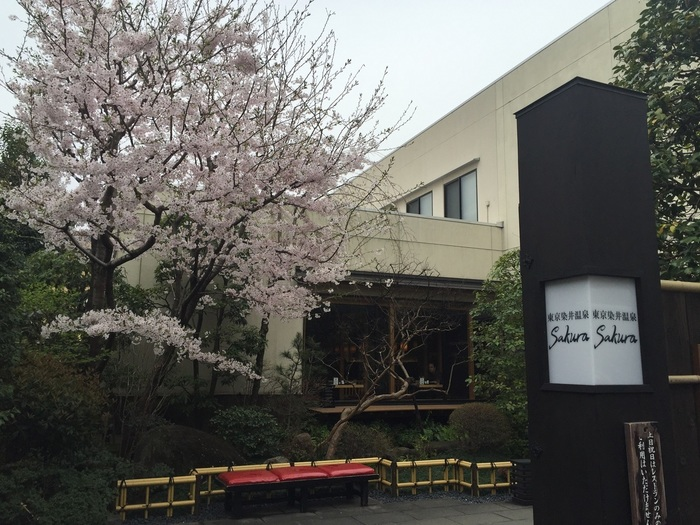 ソメイヨシノ発祥の地といわれている、東京・巣鴨にある天然温泉『東京染井温泉 SAKURA(サクラ)』。趣のある門をくぐれば、まるでタイムスリップしたかのような雰囲気の中、ゆったりとした時間を過ごすことができます。