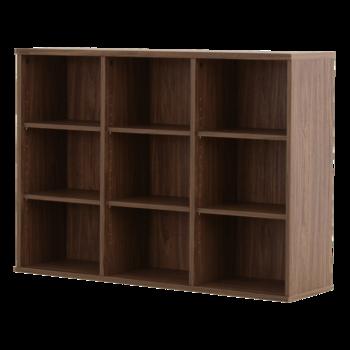 「キッチンカウンター下のスペースを上手に活用したい」という方は、こちらの写真のような薄型の「収納棚」を設置してみてはいかがでしょうか。奥行き30㎝のスリムなデザインなら場所を取らず、カウンター下を収納スペースとして有効活用できます。