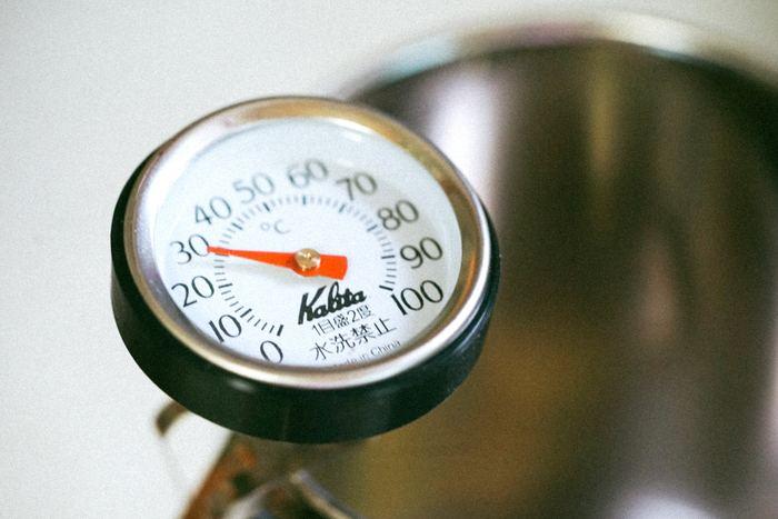 理想の温度は38℃~40℃くらい。それ以上は熱過ぎるので、温度設定に注意しましょう。