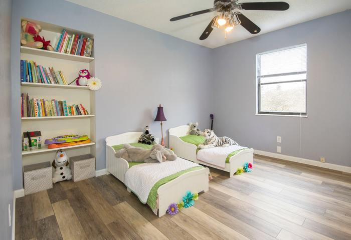 子供が小さいうちは1つの部屋で。でも大きくなったら、兄弟や姉妹でそれぞれの部屋に分割できるようであればベターです。