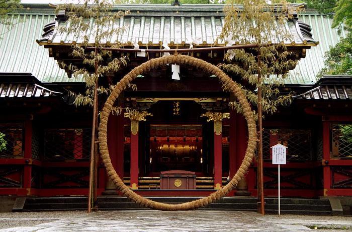 根津神社では年間を通じて様々なお祭りや催事が行われています。