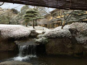 露天風呂付きの客室は10部屋。さらに1階2階合わせた26のお部屋からは、こだわりの日本庭園の眺めを楽しめます。