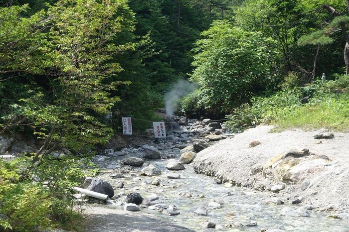 源泉の近くは高温のため、湯けむりの量もけた違い。自然が生み出すダイナミックな景観を楽しみながら、ゆっくり歩いてみませんか?