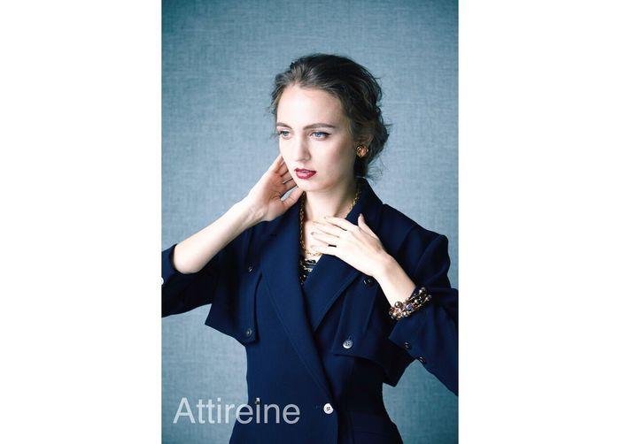 「Attireine」は上でご紹介したTRIFARI社のコスチュームジュエリー、その他ヨーロッパ・アメリカで買い付けしたヴィンテージジュエリーを扱うお店。繊細でクラシックなデザインが、品揃え豊かです。