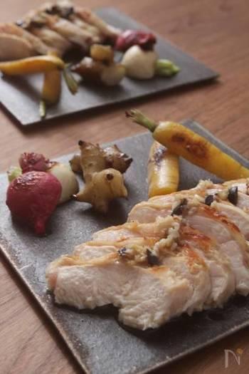 小さなニンジンに関しては、シンプルにグリルして添えるだけで立派なあしらいに。お料理に高級感や特別感を出したいときに特におすすめですよ。